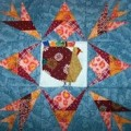 Thanksgiving Turkey Quilt Block