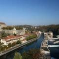 The Swiss city of Bern