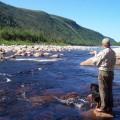 Trout Fishing New Foundland Canada