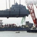 South Korea Ship Sinks