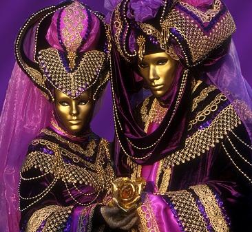 venice, purple pair