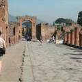 Visiting Pompeii