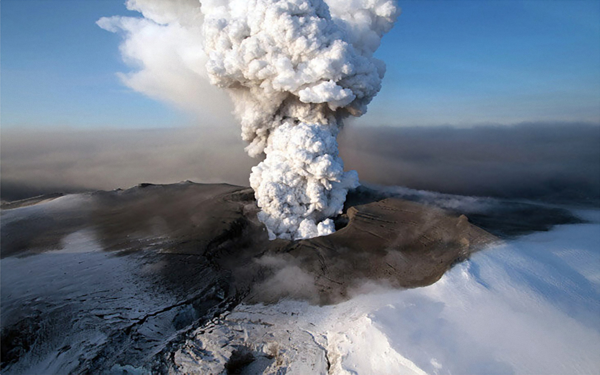 Volcanoes in Iceland