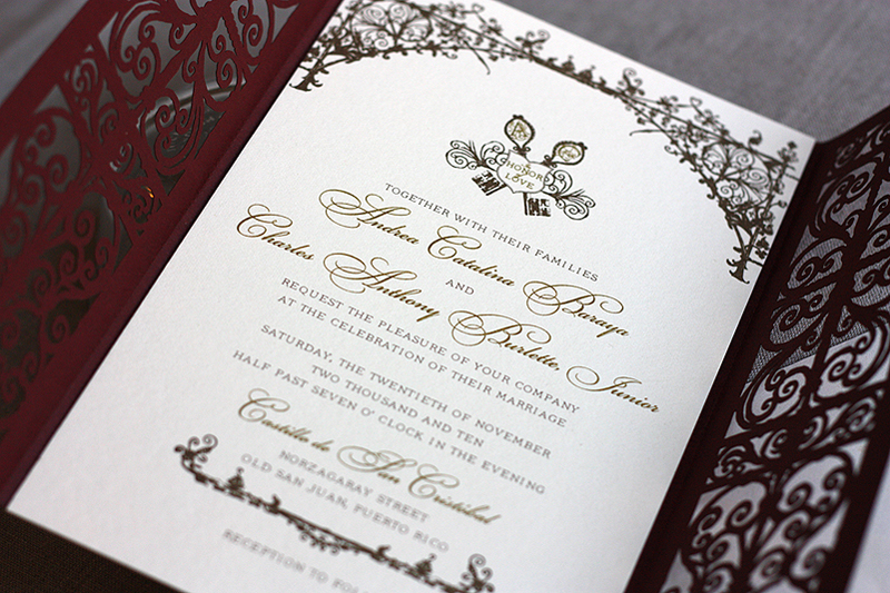 Wedding invitations in spanish