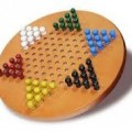 Wooden Peg Chinese Checkers