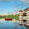Chinese Religious Pagoda