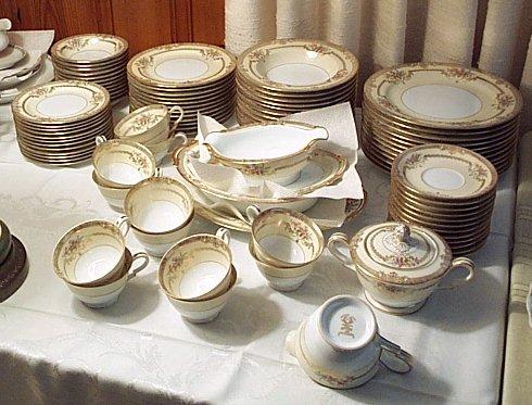 antique noritake china