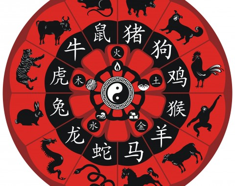 Chinese zodiac compatability wheel