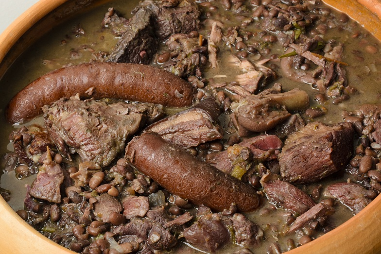 Brazilian Beef Pork & Sausage Stew Feijoada
