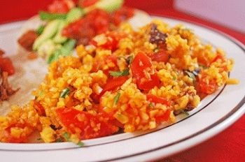 history of spanish rice