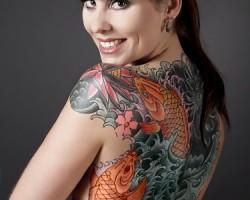 Japanese Koi Fish Tattoos