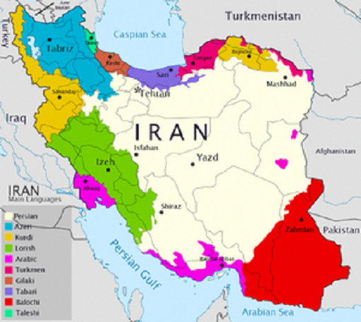 language in Iran