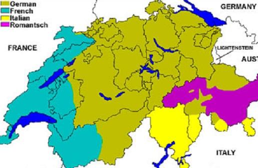 languages in switzerland