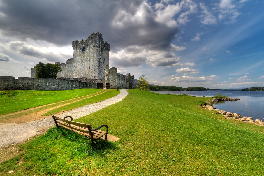 Ross Castle near Killarney, Co. Kerry Ireland