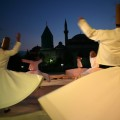 mevlana museum and dervish dancer