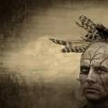 native american warrior art