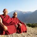 Indian tibetan monk lama