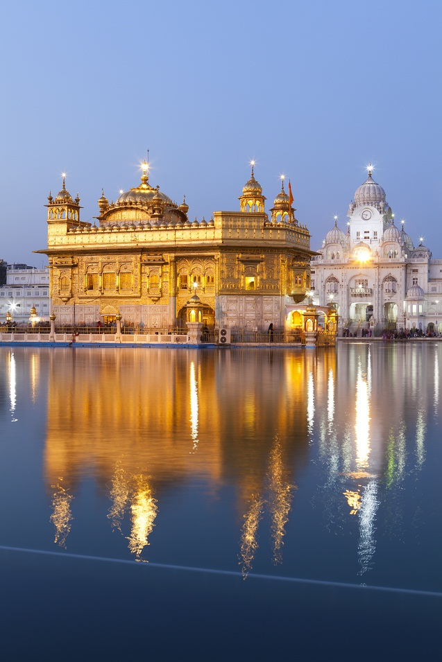 Golden Temple, Amritsar, India.