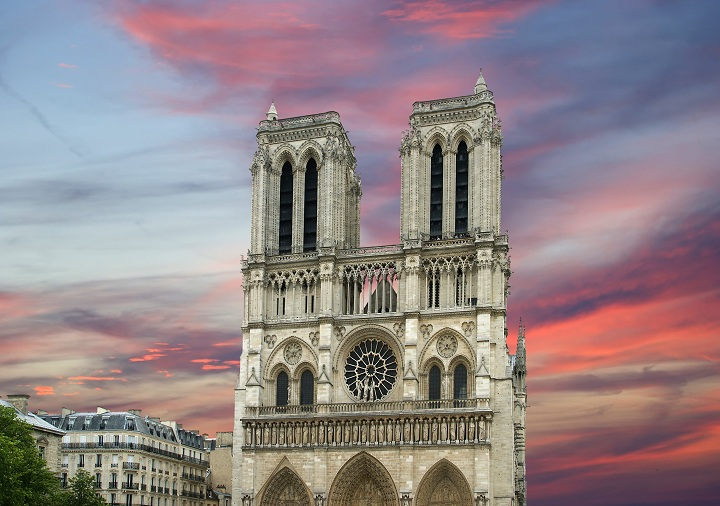 Notre Dame de Paris, also known as Notre Dame Cathedral or simply Notre Dame, is a Gothic, Roman Catholic cathedral of Paris, France
