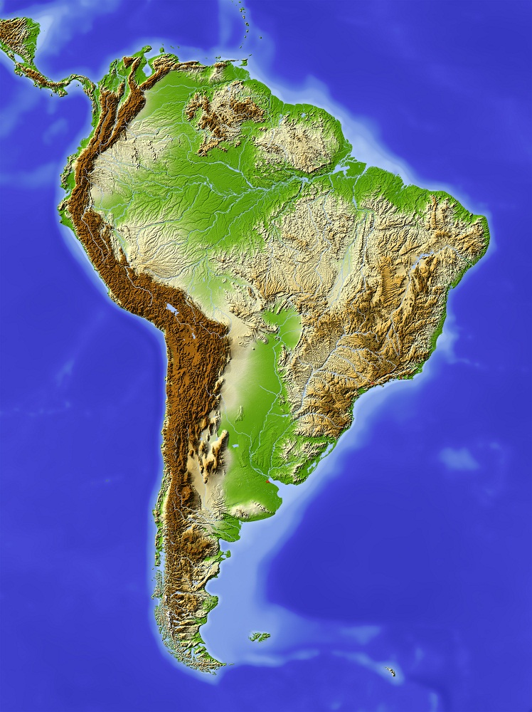 Physical geography Brazil