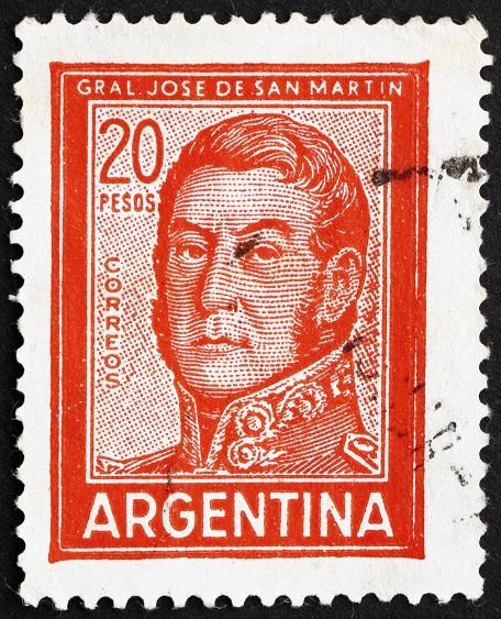 Postage stamp Argentina 1967 Jose de San Martin, General