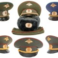 Russian army hats