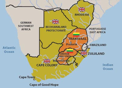 south africa colonization