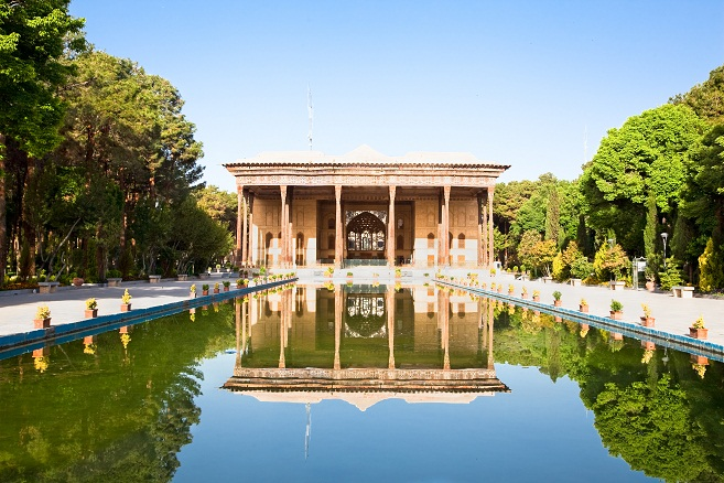 Chehel Sotoun  Palace built by Shah Abbas II, Esfahan