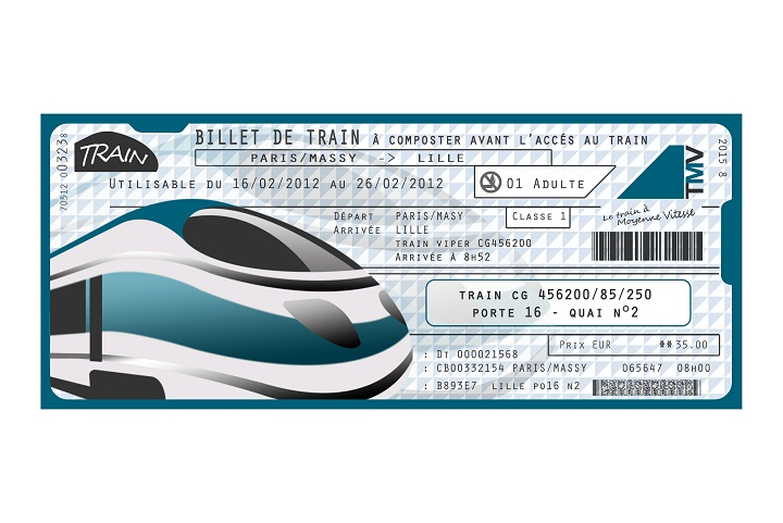France train ticket