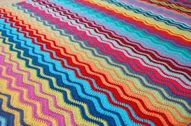Crochet Graph And Wave Afghan Patterns