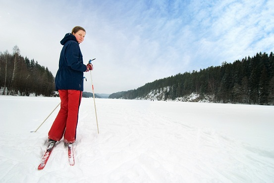 cross country skier norway