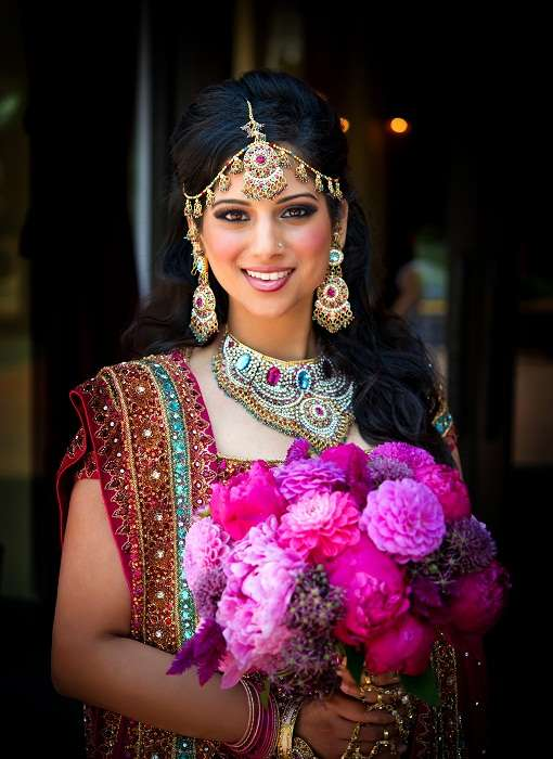 Indian Bridal headpiece
