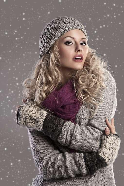 Icelandic wool cardigan