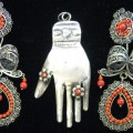 Mexican Antique Silver Jewelry