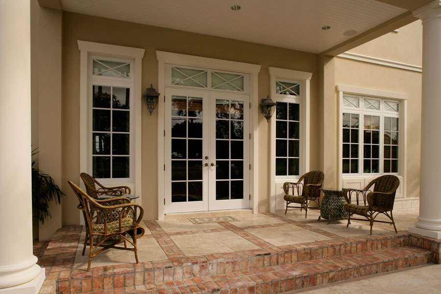 French Doors with Transom Windows 900 x 600