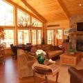big bear winter cabin