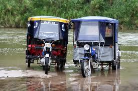 Mototaxis in Peru