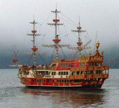 japanese pirate ship