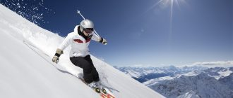 Downhill Skiing in Switzerland