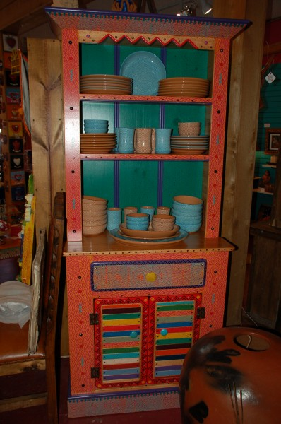 Hand Painted Mexican Furniture
