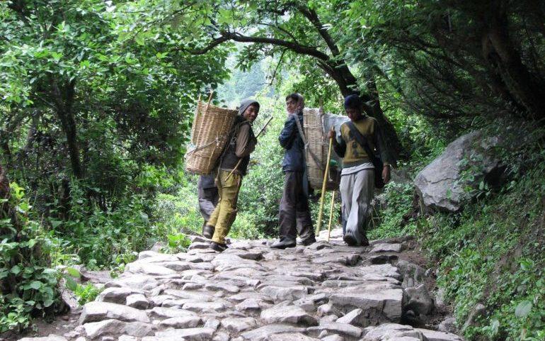The Sherpas in Nepal