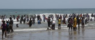 Ghana Dirty Beaches