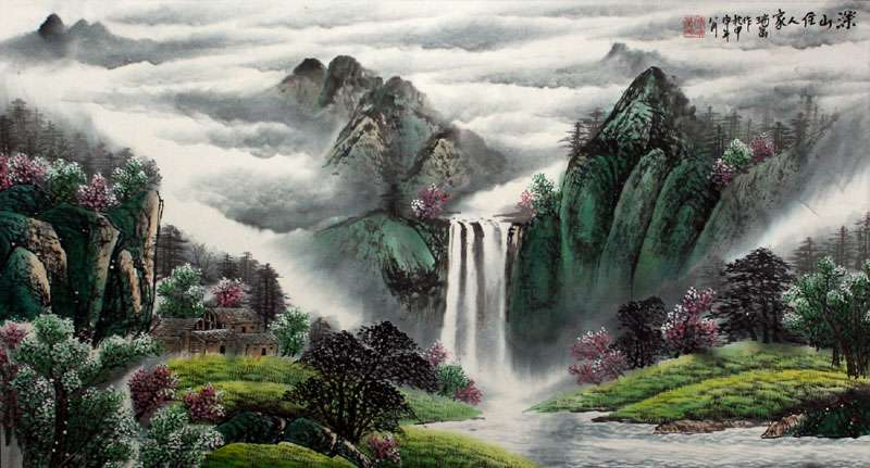 Chinese Landscape Art Paintings