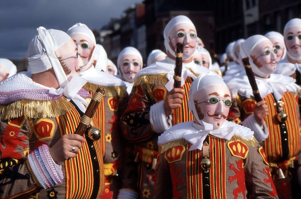 Belgium National Costume