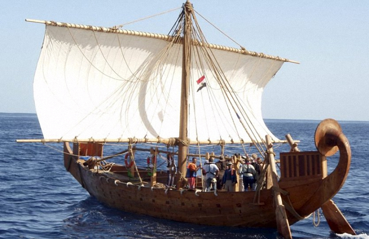 Ancient Egyptian Sailing