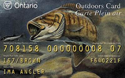 Canada Fishing License
