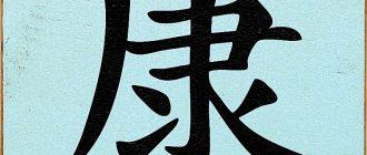 Chinese Symbols Health