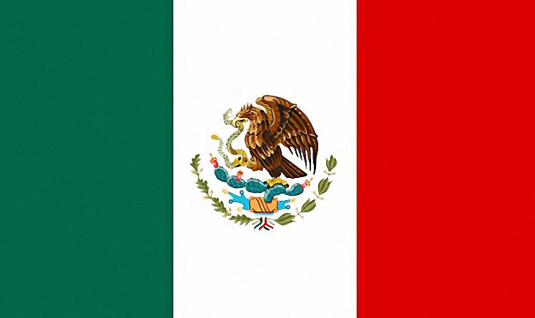 Eagle Flag of Mexico