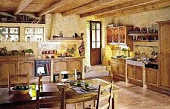 French Parisian Kitchen Decor