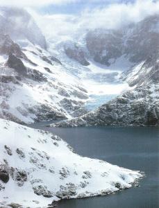 The landscape of Antarctica